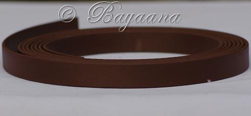Biothane, dark brown